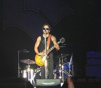 Lenny Kravitz en León (16 de junio de 2005)