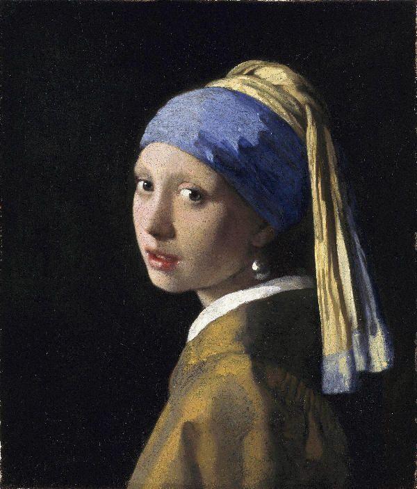 """La Joven de la Perla"" Vermeer de Delf"