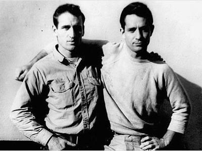 Jack Kerouac y Neal Cassady, una imagen beatnick donde las haya