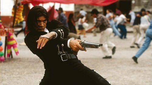 """Antonio Banderas en """"El Mexicano"""" (""""Once Upon a Time in Mexico"""", 2003)"""