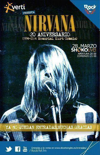 Especial Rock FM Kurt Cobain (2014)