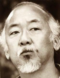 Pat Morita, el famoso señor Miyagi en Karate Kid