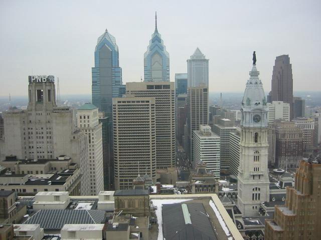 Imagen de Filadelphia desde el aire