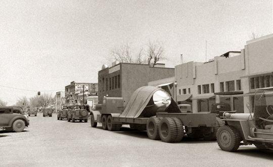 Militares en Roswell (Nuevo México, Estados Unidos)
