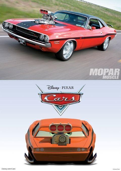 Snot Rod es en realidad un Dodge Challenger R/Tde 1970 con un enorme supercargador