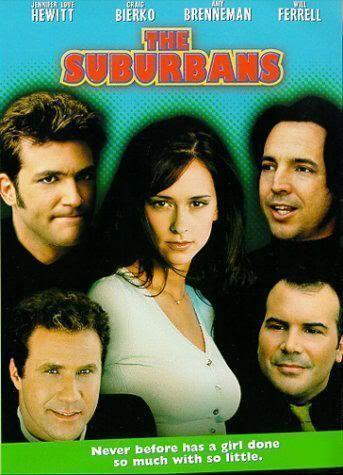"""Cartel de """"The Suburbans"""" (1999)"""