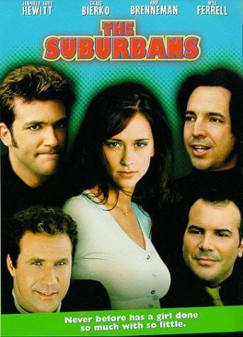 "Cartel de ""The Suburbans"" (1999)"
