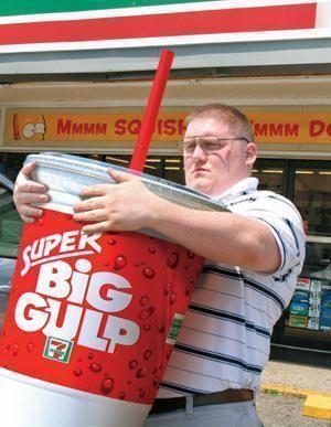 Bebidas gigantes en Estados Unidos. Super Big Gulp