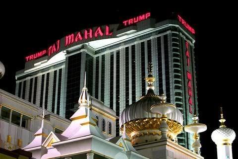 Trump Taj Mahal Casino y Hotel en Atlantic City