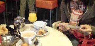 """En la cafetería """"El Mentidero"""" (22 de junio de 2010)"""