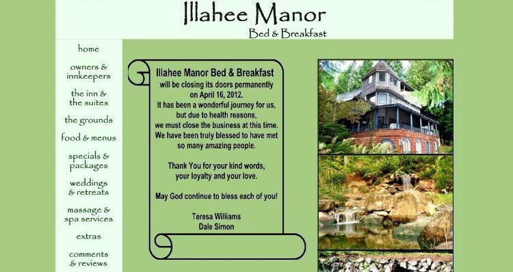 Adiós al maravilloso Illahee Manor (Bremerton, WA)