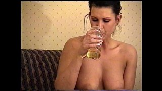 Michele Raven Piss Drink 2 of 2