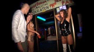 Silke Maiden, Salome & Dani Sun drink piss and enema in Berlin 1