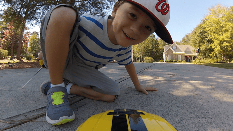 Remote Control Car + Your Dad's GoPro = A Kid's Dream