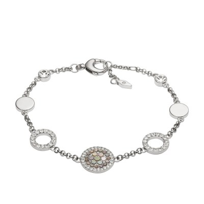 Fossil Vintage Glitz Crystal Bracelet
