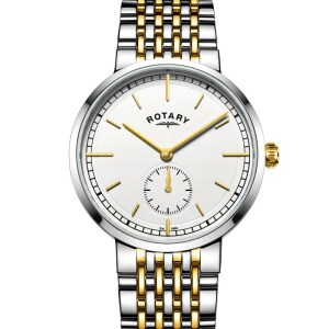 Rotary Mens Two Tone Canterbury Watch