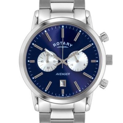 Rotary Men'S Blue Dial Avenger Chrono
