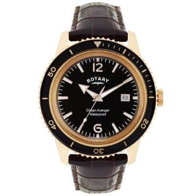 Ocean Avenger Rose Gold Plated Watch