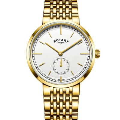Rotary Gents Gold Plated Canterbury Watch