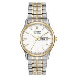 Gents Eco-Drive Expansion Bracelet Two Tone