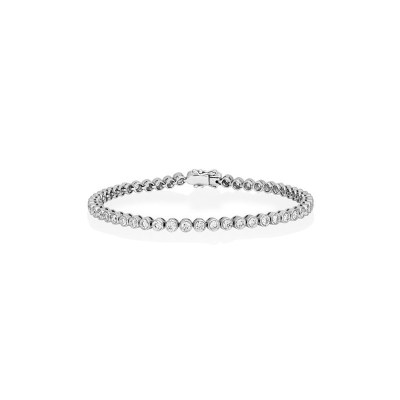 Diamond Tennis Bracelet in 18ct White Gold