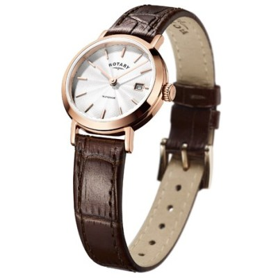 Rotary Ladies Rose Gold Windsor Watch