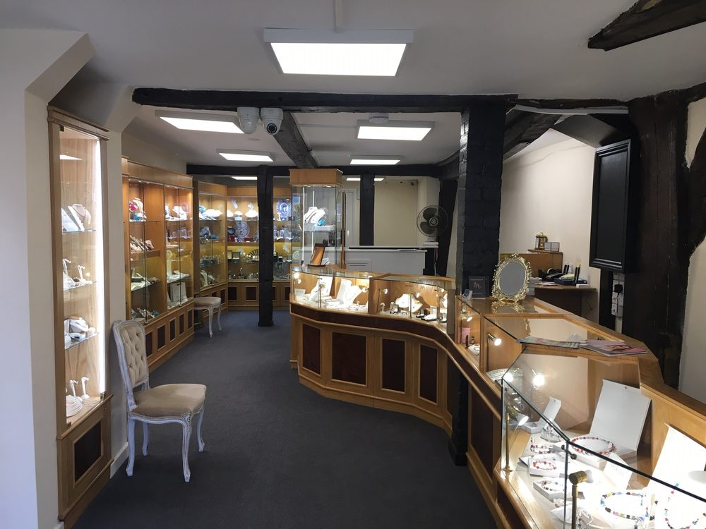 Image of inside the shop of J.A.Woodroffe Jewellers