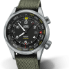 An image of the Oris Automatic Big Crown Pro Pilot Altimeter watch front facing