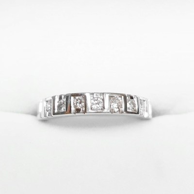 Second Hand Diamond Eternity Ring in 18ct Yellow & White Gold