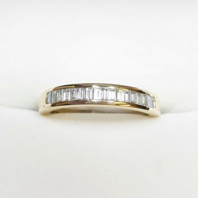 Second Hand Diamond Eternity Ring in 18ct Yellow Gold