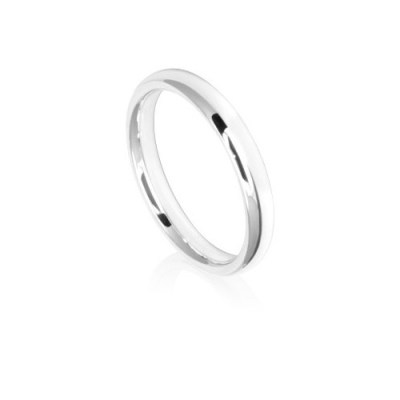 3mm Low Dome Comfort Fit Wedding Ring Band