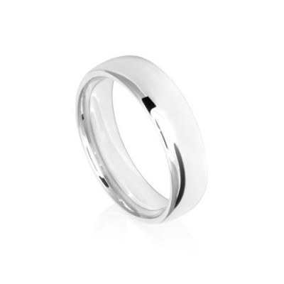 6mm Low Dome Comfort Fit Wedding Ring Band
