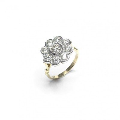 Second Hand 18ct White Gold Diamond Ring, 2.04ct