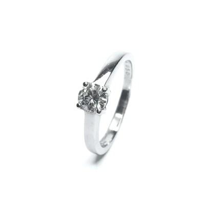 Second Hand Platinum Diamond Solitare Ring