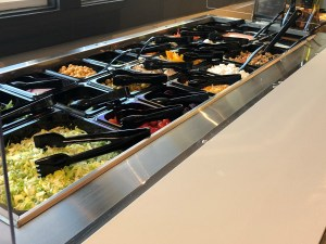 Courtesy photoJax's premium salad bar has been a huge hit with clientele, the Strand's said. Some of the offerings at the salad bar include a choice of lettuce, whole hard boiled eggs, vegetables, cottage cheese, house made macaroni salad and pepperoni.