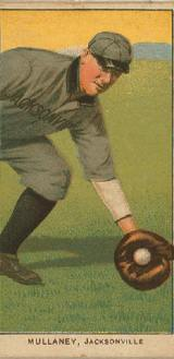Old-Time Baseball Player