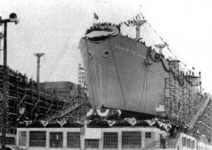 Jacksonville's first Liberty Ship, the Ponce de Leon.