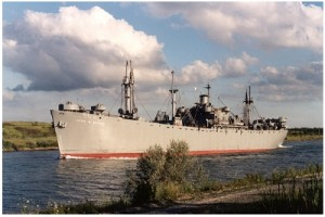 One of two remaining Liberty Ships.