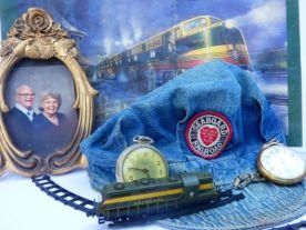 Seaboard Railroad Trainman's effects