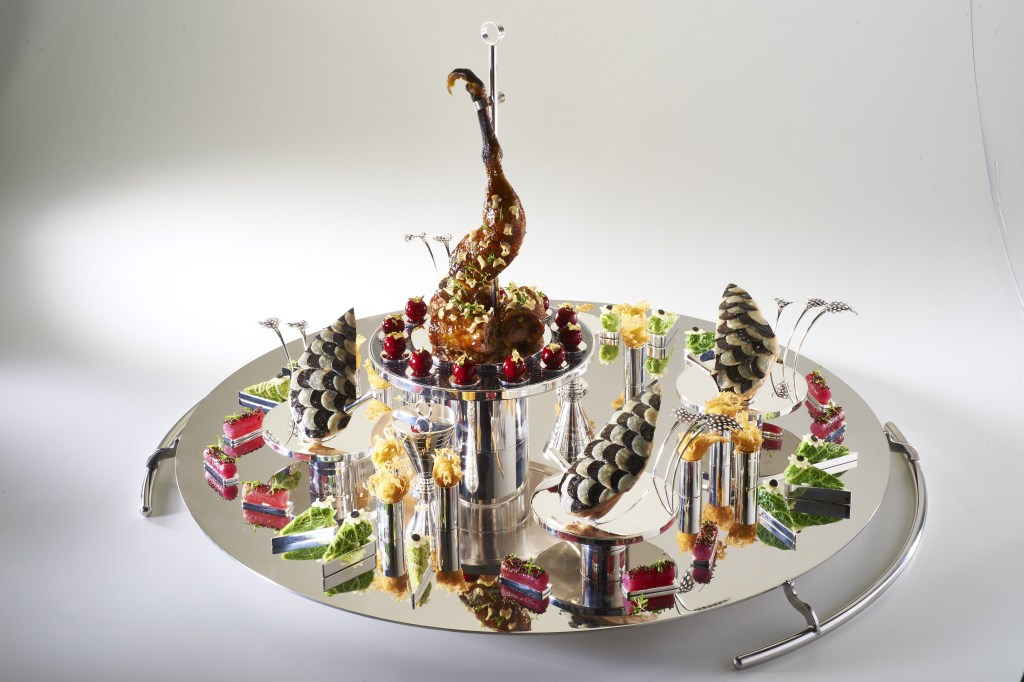The UK Meat platter, Bocuse d'Or 2015