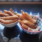 Churros, with Pistachio and Cardamom Sugar