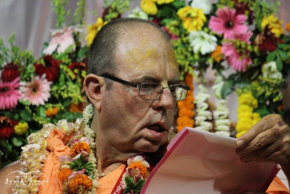 Vyasa Puja – Jayapataka Swami Guru Maharaja – Report from Sri Mayapur – 17th April 2016