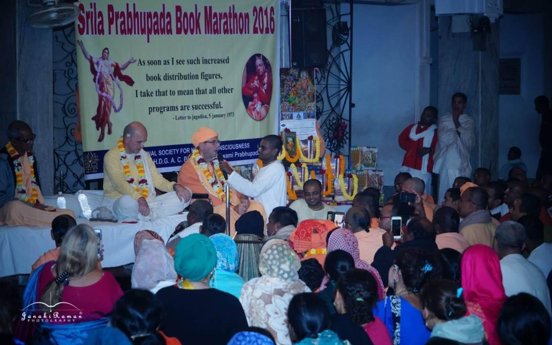 Book Distribution Marathon 2016 Begins