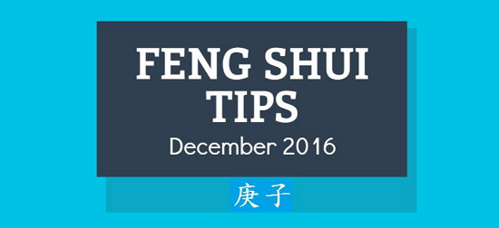 Feng Shui tips Dec 2016