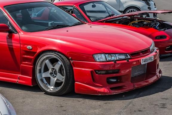 Ugly Modded Japanese Car