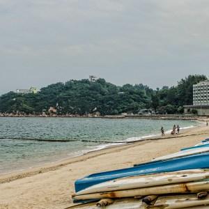 Beautiful Cheung Chau beach
