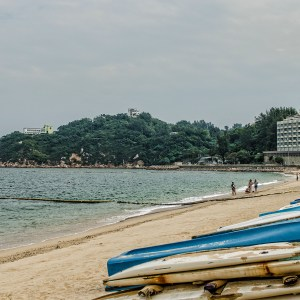 Beautiful Cheung Chau beach