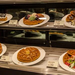Delicious desserts in the Taipei 101