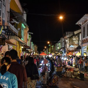 Old Town Sunday night street market - Phuket
