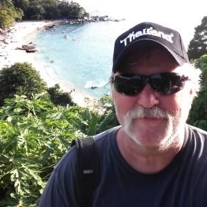 My selfie from Phuket, Thailand